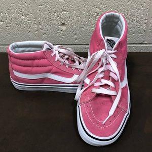 Light Pink SK8-HI Vans Mens or Women's
